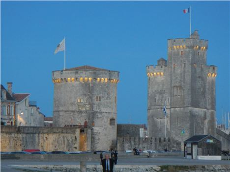 Sunset . . . And Wine O'clock At La Rochelle