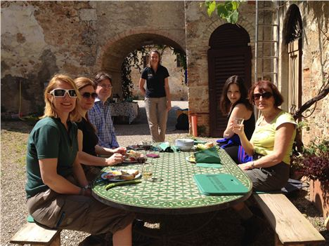 Lunch On Hedonistic Hiking Tour At The Farm And Wine Estate Of Bichi Borghesi, Scorgiano