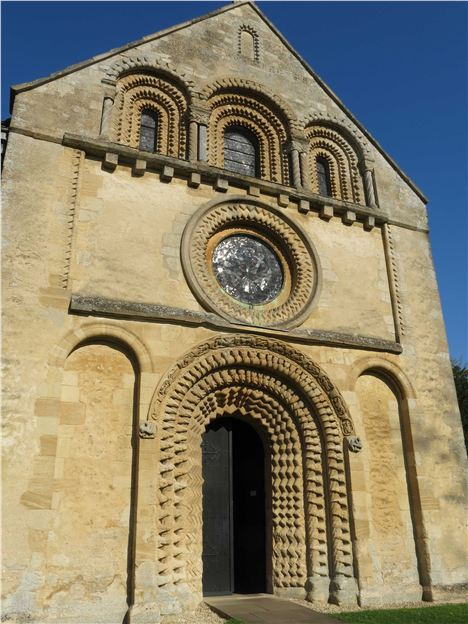 Romanesque Front Of St Mary's