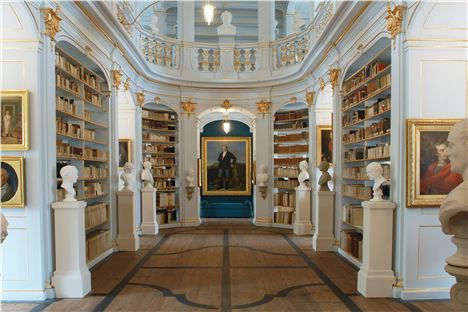 5. Rococo Masterpiece, The Duchess Anna Amalia Library. Image Courtesy Of Www.Visit-Thuringia.Co