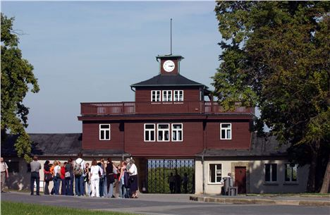 3. The Main Gates At Buchenwald Concentration Camp. Image Courtesy Of Www.Visit-Thuringia.Co