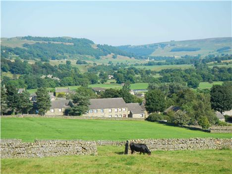 Glorious . . . A View Along Swaledale