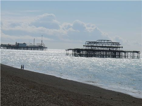 The Sad Skeleton Of The West Pier