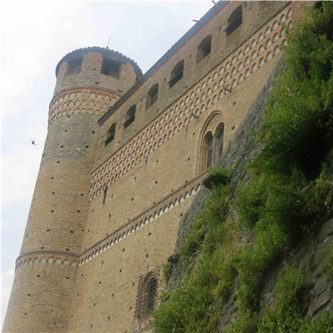 Swifts Nest In The Crannies Of Serralunga Castle