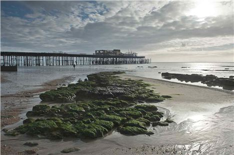 The Poignant Skeleton Of Hastings Pier