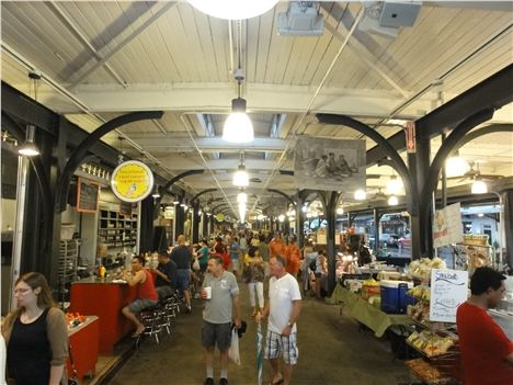 French Market In New Orleans' French Quarter