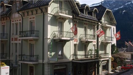 Hotel National In Champery