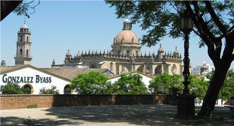 Jerez Cathedral %28Oh And A Sherry Bodega%29