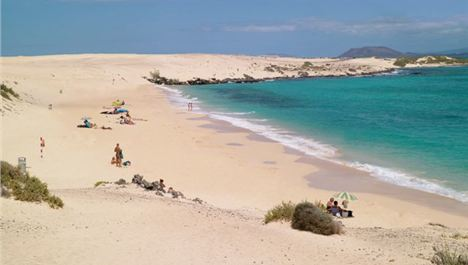 Golden Beaches And White Russians In Fuerteventura