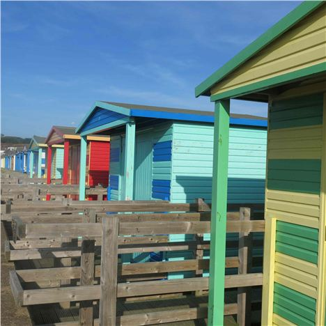 Beach Huts, Whitstable