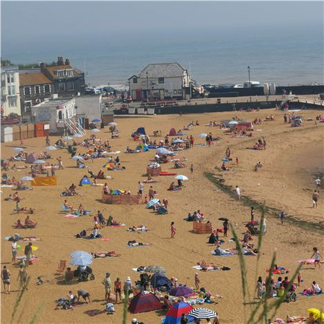 Oh Do Like To Be Beside The Seaside - At Broadstairs