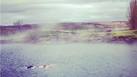 Transatlantic Stopover In The Secret Lagoon With Icelandair