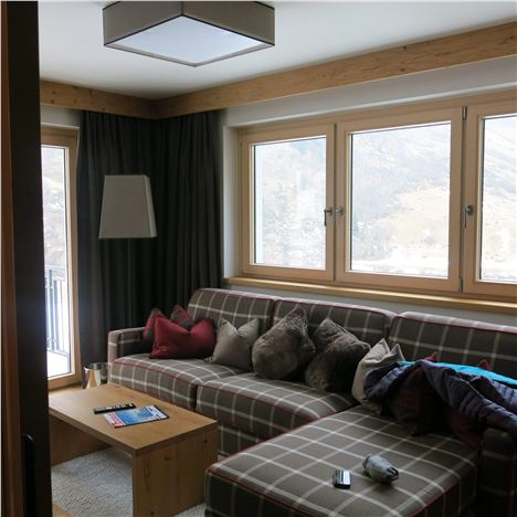 Sitting Room With Mountain View - Gletscherblick