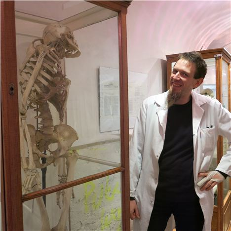 Eduard Winter Gets Down To The Bare Bones At The Anatomical Atholog Museum