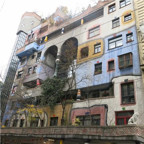 The Remarkable Hundertwasserhaus