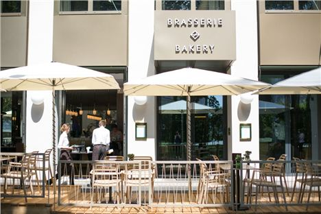 Theguest House Vienna's Brasserie And Bakery Terrace