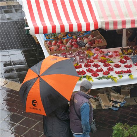 Raining On The Market