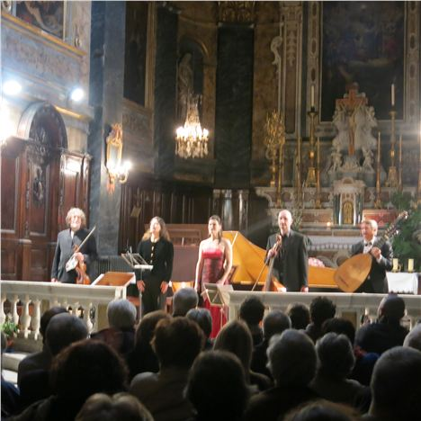 Baroque Concert At St Martin