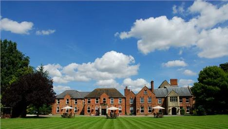 Hatherley Manor With Its Magnificent Lawns