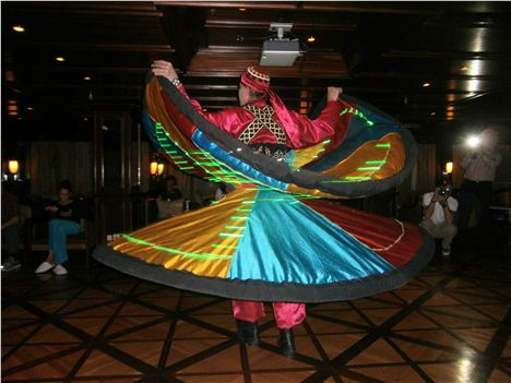Shipboard Entertainment- Whirling Dirvish