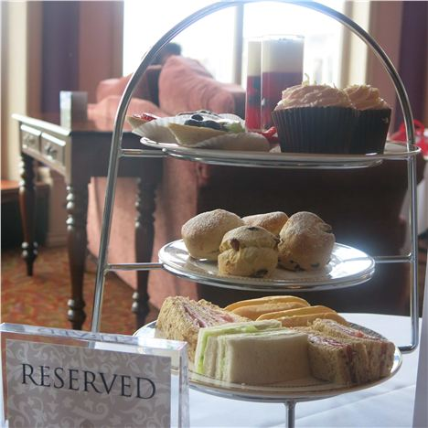 Afternoon Tea At Culloden